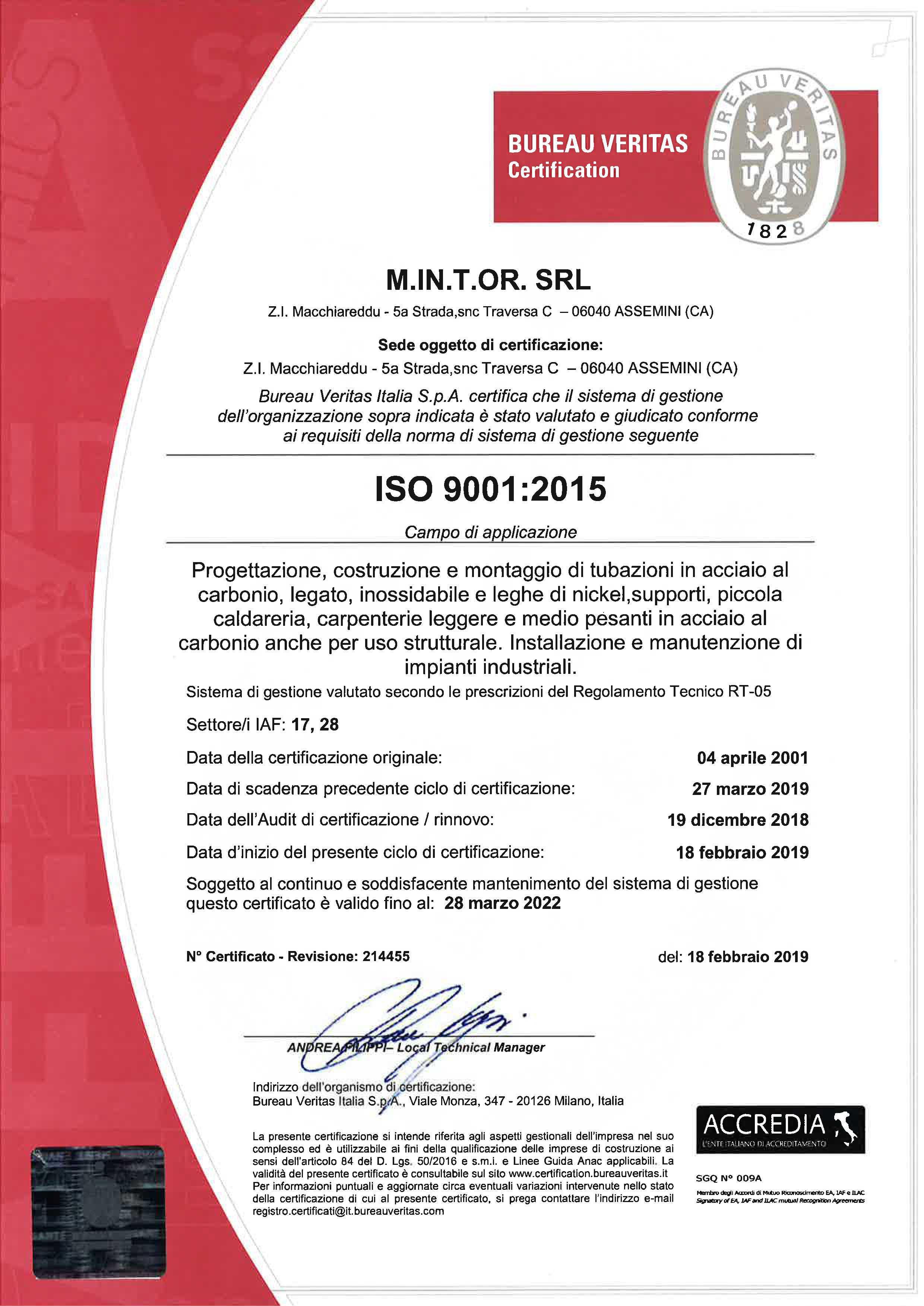 certificazioni-mintor-luglio-2019_0002_M.IN.T.OR. SRL- SCAN 9001 ITA